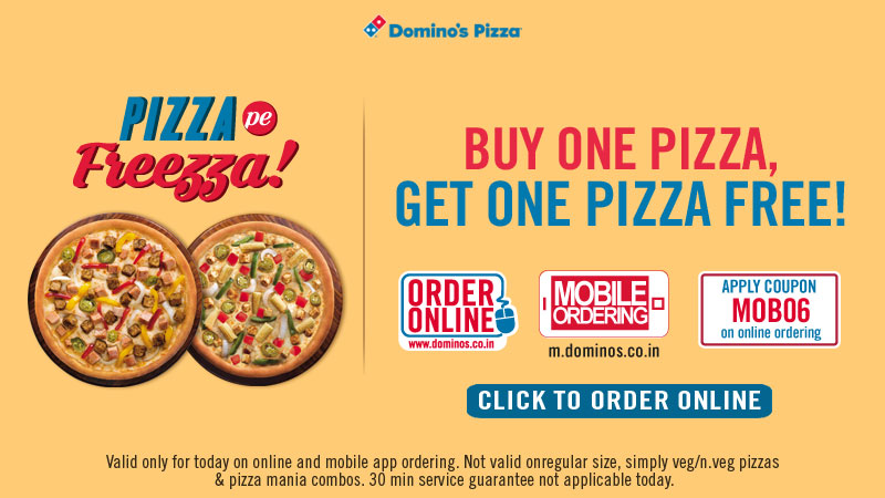Dominos offer coupons today