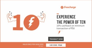 Freecharge coupons code today for airtel postpaid / Tuesday