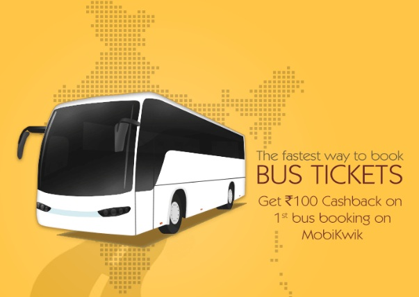 Cashback on bus booking