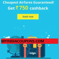 Ixigo flight discount coupons