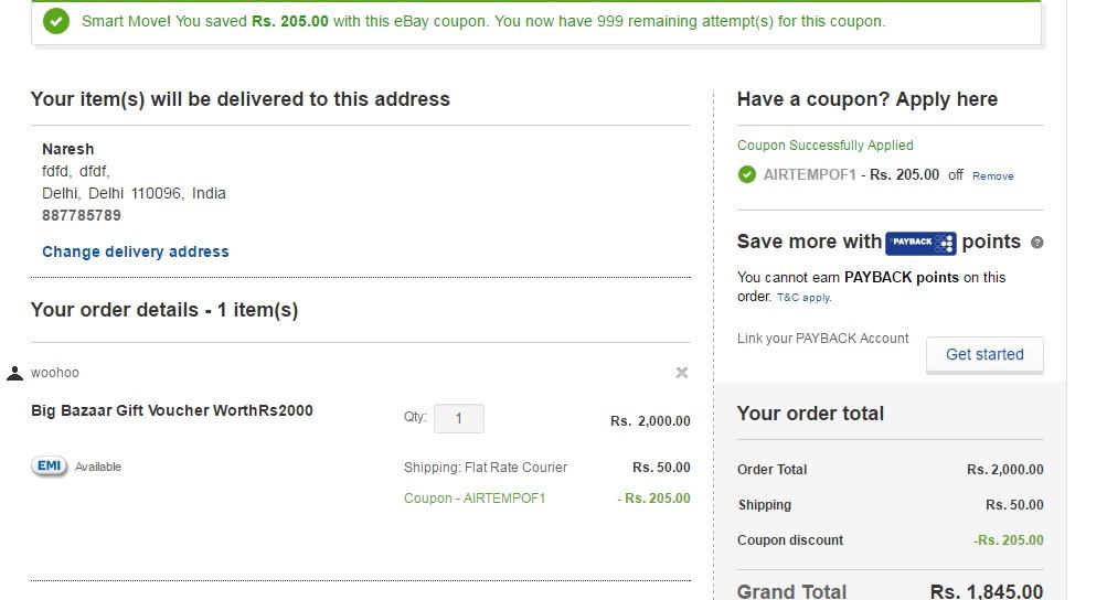 Ebay 10 voucher code